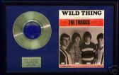 "TROGGS - 7"" Silver Disc & songsheet - WILD THING"